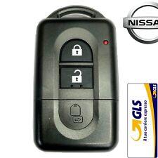 Guscio Chiave Cover Telecomando 2 Tasti PER Nissan Qashqai X-trail Micra Juke --