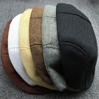 Sports Golf Hat Summer Unisex Fashion Outdoors Peaked Cap Cabbie Flax Beret