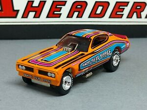 NHRA FUNNY CAR TOM HOOVER WHITE BEAR DODGE LIMITED EDITION COLLECTIBLE 1/64 F/C