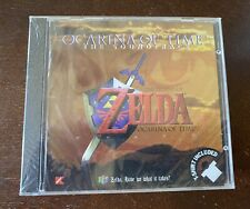 Zelda: Ocarina of Time Soundtrack with rare t shirt bundle, Kmart, factory new!
