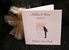 Personalised Childrens Kids Wedding Activity Pack Book Favour 6x6inch AB32