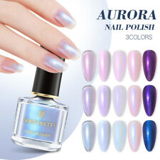 BORN PRETTY Colorful Iridescent Nail Polish Aurora Shining Glitter Nail Varnish