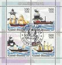 Timbres Bateaux Phares Guinée Bissau 2186/9 o année 2006 lot 15441