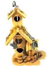 Polunesian Paradise Three Entry way Bird House