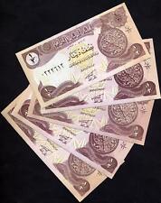 IRAQ  Lot of 5 Notes 1/2  Dinar 1993 UNC  P 78