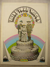 FILM PROGRAMME PAINT YOUR WAGON uk issue original 1969 EX