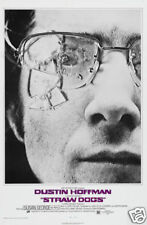 Straw dogs Dustin Hoffman cult movie poster print
