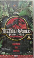 THE LOST WORLD - JURASSIC PARK, CERT PG, VHS-PAL VIDEO