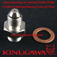 Turbo Oil Feed Adapter Fitting FOR Garrett Nissan S14 S15 T28 Ball Bearing 1mm