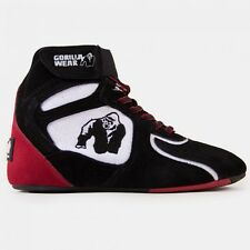 "Gorilla Wear Chicago High Tops - Black/White/Red ""Limited Edition"""