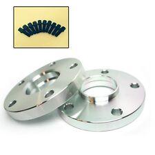2 Pcs CNC Wheel Spacers | 5X130 | 71.5 CB | 14X1.5 | 20MM W/ Ball Set Lug Bolts