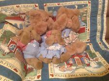 Mango Peek-a-boo Bear Family Boo Sam Anna & Musical Boo