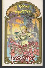 My Name Is Paris #3 A Scent Of Murder by Elizabeth Howard PB Mike Kaluta Art