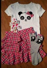 Gymboree Panda Academy Outfit Set Size 9 10 Adorable 🐼