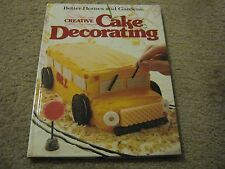 1983 Better Homes and Gardens Creative Cake Decorating Book – HB