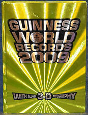 GUINNESS WORLD RECORDS w/ALL NEW 3-D PHOTOGRAPHY 2009 by Craig Glenday (Editor)