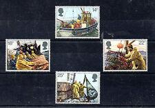 Gran Bretaña Pesca y medio Marino serie año 1981 (BR-910)