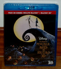 The Nightmare before Christmas Blu-Ray 3D + Blu-Ray Disney Sealed New R2