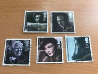QE2 GB 1985 - A full set of BRITISH FILM YEAR stamps - used