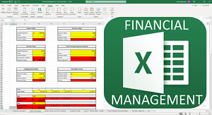 College Class Financial Management Calculators - Microsoft Excel Spreadsheet