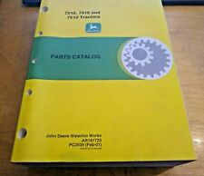 John Deere 7210 7410 7510 Tractor Parts Catalog Book Manual Pc2539 pub:Feb/2001