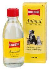 Ballistol Animal 100ml Aceite Corporal Para Cuidado Piel Orejas del pelo
