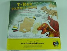 T REX plâtre-a-Saurus Creativity For Kids. de l'âge 10 To adulte. Neuf scellé