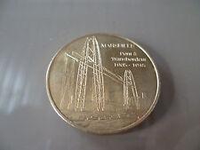 1* MONNAIE DE PARIS FRANCE 2010  PONT A TRANSBORDEUR MARSEILLE 1905-1945