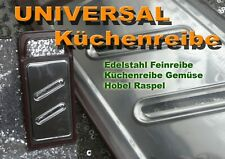 EDELSTAHL universal Küchenreibe Gemüsereibe Hobel Raspel