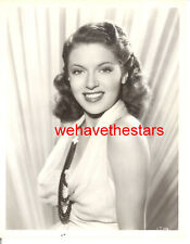 Vintage Lana Turner GORGEOUS SEXY 30s WB EARLY Publicity Portrait