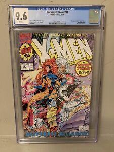 Uncanny X-Men #281 CGC 9.6 First Appearance Trevor Fitzroy New Team