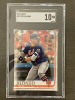 2019 Topps Series 2 Rookie RC Pete Alonso New York Mets #475 SGC 10 Gem Mint