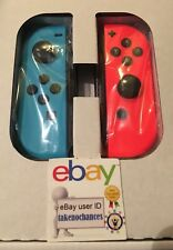 Nintendo Switch Joy-Con Neon Red/Neon Blue Joycons Controllers Brand New