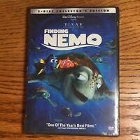 Finding Nemo (DVD, 2003, 2-Disc Set) Collector's Edition Classic Disney Pixar