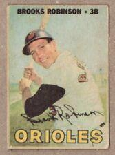 Venezuelan Topps 1967 Brooks Robinson #211 Baltimore Orioles Ptd In Venezuela