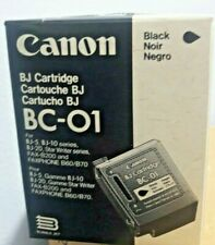 Genuine Canon BJ Cartridge BC-01 For BJ-5, BJ-10 Series,  NEW
