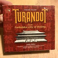 Giacomo Puccini - TURANDOT at the Forbidden City Of Beijing, 2 CD Set (Mehta)
