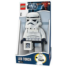 NEW LEGO STAR WARS STORM TROOPER LED TORCH FLASH LIGHT LAMP RRP £25 STORMTROOPER