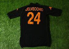 AS Roma ITALY 24 DELVECCHIO 2002 2003 FOOTBALL SHIRT JERSEY THIRD KAPPA ORIGINAL