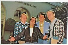 c. 1974 HAPPY DAYS boys TV Show full color photo fan card MINT facsimile signed