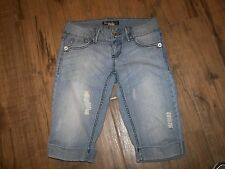 Women's Rewind Stretch  Distressed Denim Shorts - 5 Jrs.