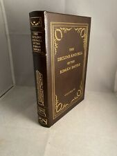 The Decline and Fall of the Roman Empire Volume 6 Easton Press Leather
