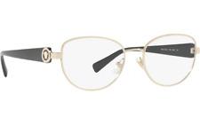 Versace Crystal Ring VE1246B 1332 52 Pale Gold Black OpticalEyeglasses