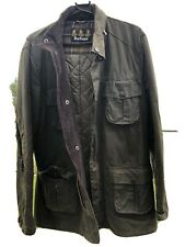 mens barbour wax jacket xl