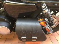Tasche  Harley Davidson Sportster 1200 883 48 Schwingentasche Flaschenhalter New