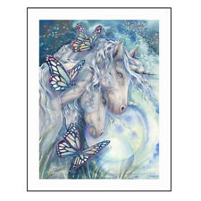1set Diamond Embroidery Mosaic unicorn butterfly Diamond Painting Cross TB