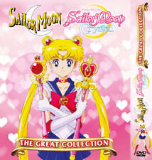 Sailor Moon Great Collection (Season 1-6 + 3 Movie) with English Audio