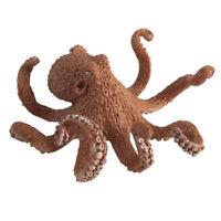 11cm Octopus Realistic Sea Animal Model Solid Figure Ocean Animal Kids Toy Gift