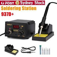 Digital 60W 937D+ Soldering Iron Station Lead Free ESD Safe Welding Tool Kit OZ