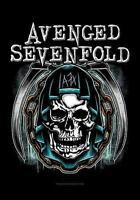 """AVENGED SEVENFOLD AUFKLEBER / STICKER # 20 """"HOLY REAPER"""" - 7x5cm"""